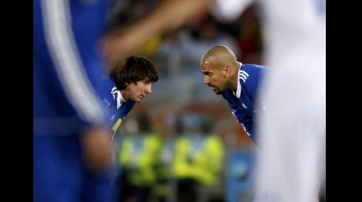 FOTOS: los momentos decisivos del partido Argentina - Grecia