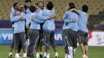 La fiebre Forlán: jugadores uruguayos graban todo lo que viven en Sudáfrica - Noticias de diego pereira