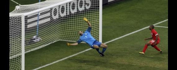 Inglaterra venció a Eslovenia por 1-0 y pasó segundo a octavos de final