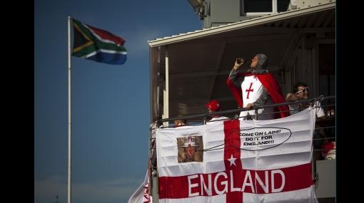FOTOS: la clasificación de Inglaterra fue una fiesta roja y blanca