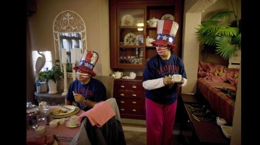 FOTOS: Estadounidenses celebraron 4 de julio adelantado por pase a octavos