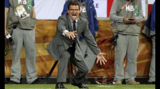 """Capello tras clasificación de su equipo: """"La Inglaterra de hoy es la que quiero ver"""""""