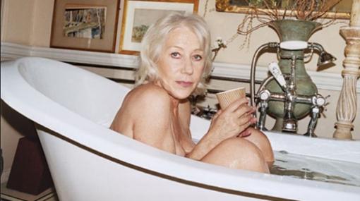 'La reina Isabel' se desnudó a sus 65 años