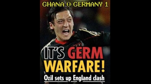 """Prensa británica dice que Alemania será """"máquina de guerra"""" ante Inglaterra"""