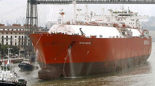 Repsol envía primera carga de gas de Camisea a México