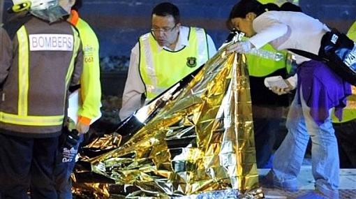 Víctimas mortales de accidente en Barcelona son ecuatorianos, colombianos y bolivianos
