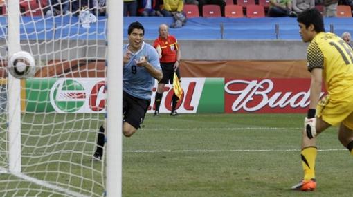 Uruguay venció 2-1 a Corea del Sur y clasificó a cuartos de final