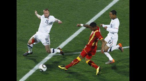 Ghana venció 2-1 a EE.UU. en tiempos extra y jugará contra Uruguay el viernes 2 de julio