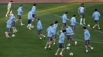 La selección uruguaya no pudo entrenar en la cancha del estadio Nelson Mandela - Noticias de diego pereira