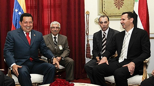 Hugo Chávez celebró la derrota de Estados Unidos y Barack Obama sufrió con la eliminación