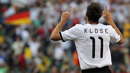 Miroslav Klose igualó a Pelé en la tabla de goleadores de los mundiales