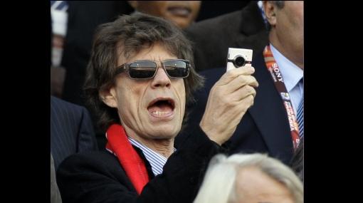 ¿Salado? Mick Jagger volvió al estadio y el equipo al que alentaba volvió a perder