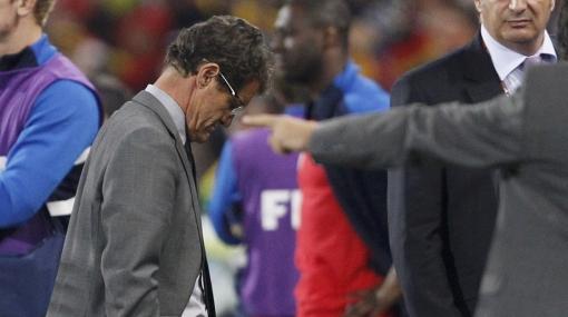 """Capello tras eliminación de Inglaterra: """"Cometimos errores, pero el árbitro cometió el mayor"""""""