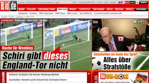 """Prensa alemana complacida por el triunfo: """"Fue la venganza de Wembley"""""""