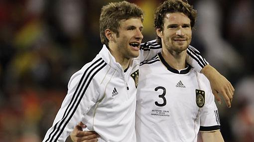 """Muller, estrella de Alemania: """"Ahora igualamos lo de Wembley"""""""