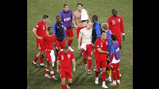 FOTOS: así sufrieron la eliminación los jugadores de Inglaterra