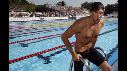 Michael Phelps se vuelve mortal y pierde en los 100 y 200 libres