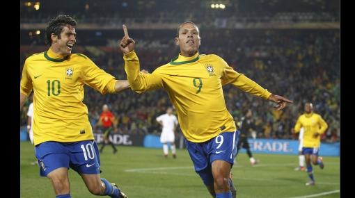 FOTOS DE LOS GOLES: Brasil llegó a cuartos de final de la Copa del Mundo