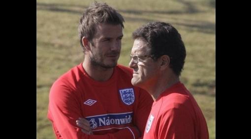 ¿El sucesor? Quieren a David Beckham como reemplazante de Fabio Capello