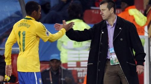 "Dunga ya analiza a Holanda: ""Juegan como sudamericanos"""