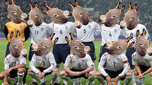 Continúan las burlas por la eliminación inglesa del mundial de Sudáfrica