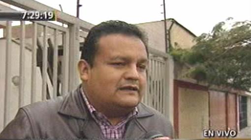 Congresista José Urquizo fue asaltado en la puerta de su casa por cuatro delincuentes