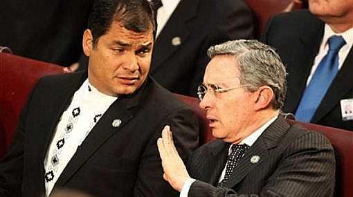 Colombia habría espiado al presidente ecuatoriano Rafael Correa