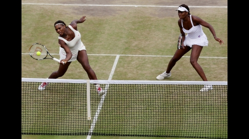 Las hermanas Williams fueron eliminadas de dobles en Wimbledon