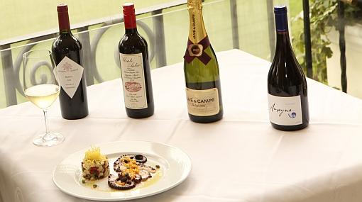 Mañana habrá una cena maridaje con vinos de cuatro países y pisco