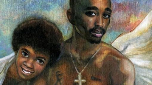 La muerte de Michael Jackson, representada en pinturas