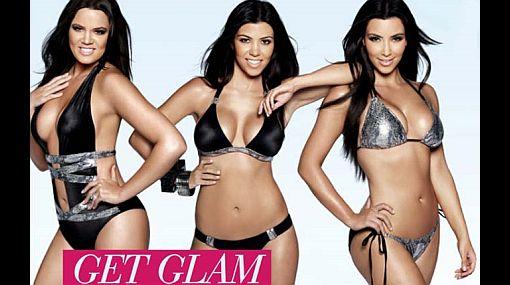 Así promocionan las hermanas Kardashian su línea de ropas de baño Beach Bunny