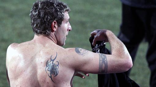 Te llevo en la piel: Sudáfrica 2010 es el Mundial de los tatuajes