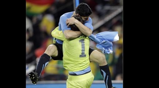 FOTOS: reviva la tanda de penales que le dio la clasificación a Uruguay a las semifinales del Mundial