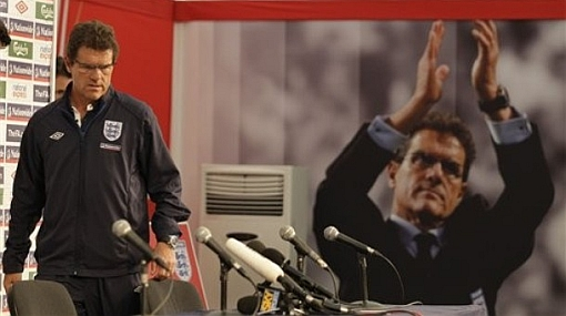 Pese a su fracaso en el Mundial, Fabio Capello continuará como entrenador de Inglaterra