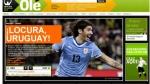 """La prensa mundial tras victoria de Uruguay: """"Abreu, bendita locura"""" - Noticias de luis hidalgo suarez"""