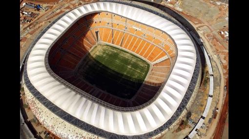 A una semana de la final: el estadio Soccer City se alista para la fiesta más grande del Mundial
