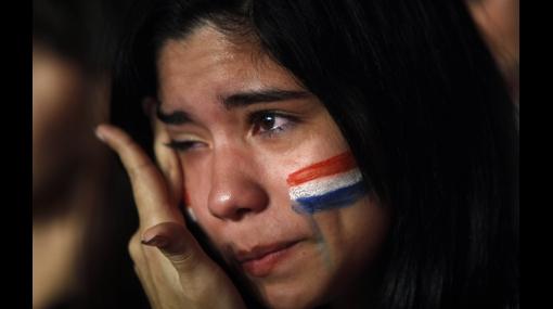 FOTOS: vea las mejores imágenes del recibimiento de la selección paraguaya