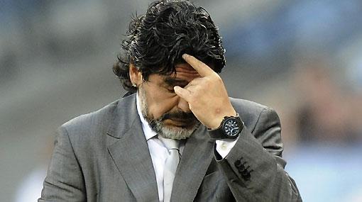 """La frase del día: """"Maradona necesita hacerse pedazos para volver a nacer"""""""