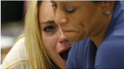 Conozca las palabras que Lindsay Lohan pronunció para evitar en vano ir a la cárcel