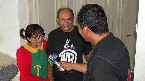 """""""La Chilindrina"""" presentó al hombre con quien comparte su vida desde hace 30 años"""