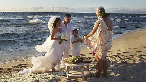 Vea las fotos de la boda de Megan Fox en Hawái