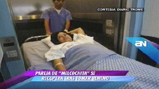 Pareja de Melcochita se muestra recuperada tras tomar veneno