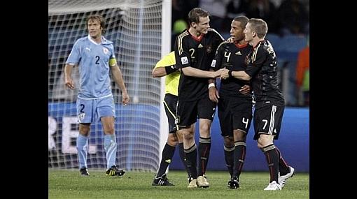 Alemania venció a Uruguay 3-2 y se quedó con el tercer puesto del Mundial