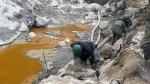 Juez ordena suspender labores de la minera Caudalosa Chica por contaminar ríos con relaves - Noticias de cruz giraldez