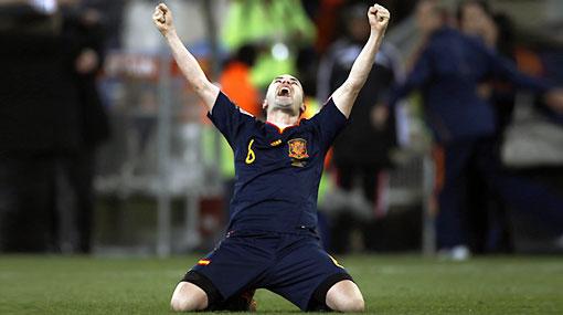 Andrés Iniesta, el héroe y salvador de España en la final del Mundial