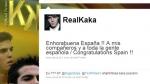 Kaká y Ronaldo felicitaron a España por su título mundial - Noticias de fc barcelona