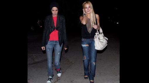 La ex novia de Lindsay Lohan la 'consuela' tras sentencia a la cárcel