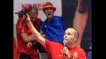 """Andrés Iniesta: """"Hacer felices a millones de personas no tiene precio"""" - Noticias de reto de campeones"""