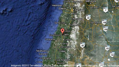 Sismo de 6,5 grados Richter sacudió cuatro regiones del centro y sur de Chile