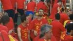 Malcriado: Piqué 'celebró' el título escupiéndole a ex presidente del Valencia - Noticias de fc barcelona